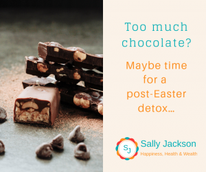 Too much chocolate? – Maybe time for a post-Easter detox…
